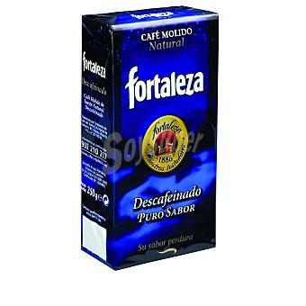 Fortaleza Café Molido Descafeinado Natural Paquete 250 g