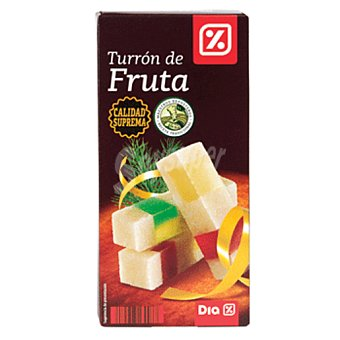 DIA Turrón de fruta suprema Estuche 200 gr