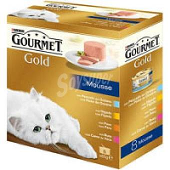 Gourmet Purina Surtido de terrine Pack 8x85 g