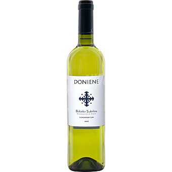 Doniene Vino blanco txakoli D.O.Bizcaiko Txacolina botella 75 cl botella 75 cl