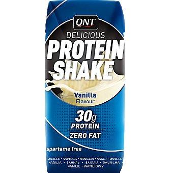 QNT Delicious Protein Shake Sabor vainilla Envase 330 ml