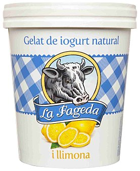 La Fageda Helado de Yogur Natural y Limón 500 ml