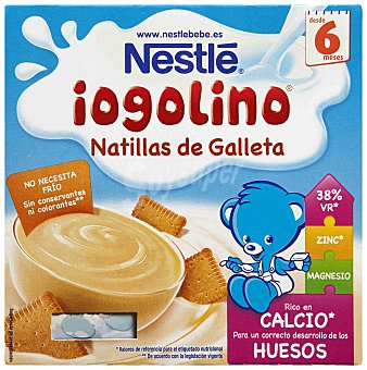 Iogolino Nestlé Nestlé Iogolino Galleta 400 g