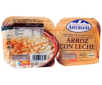 Central Lechera Asturiana Arroz con leche Pack 2 Unidades de 140 Gramos