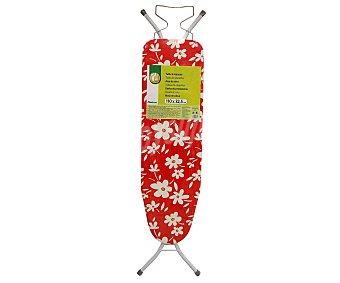 Productos Económicos Alcampo Tabla de planchar plegable y regulable en altura con soporte para plancha 110x32 centímetros 1 Unidad
