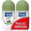 Natur Protect desodorante roll-on pack 2 envase 50 ml para piel normal pack 2 envase 50 ml Sanex