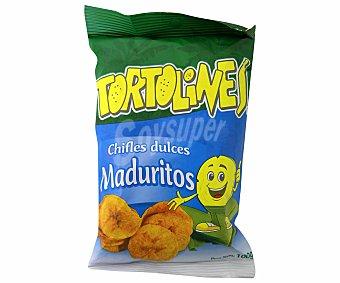Tortolines Plátano Frito Maduro Dulce 114 Gramos