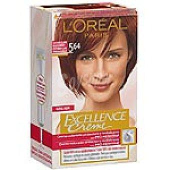 Excellence L'Oréal Paris Tinte rojo cobrizo nº 5.64 Caja 1 unidad