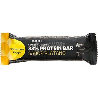 Special Line barrita de proteínas 32% sabor plátano envase 40 g