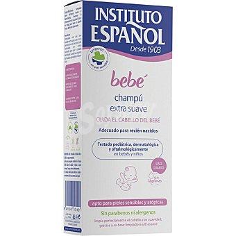 Instituto Español Bebé champú extra suave adecuado para recién nacidos de uso diario para pieles sensibles y atópicas Frasco 300 ml