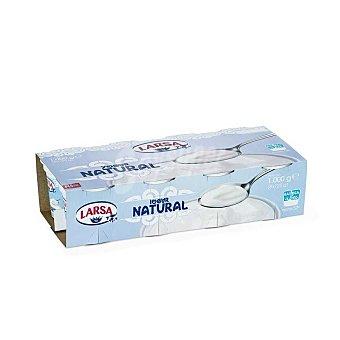 Larsa Yogur natural Pack 8x125 grs