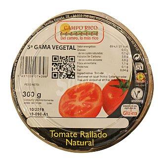 Tomate natural rallado Unidad 300 g