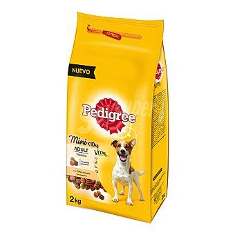 Pedigree COmida para perros mini sabor pollo  Bolsa 2 kg