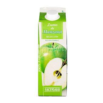 Hacendado Zumo manzana seleccion refrigerado Brick 1 l