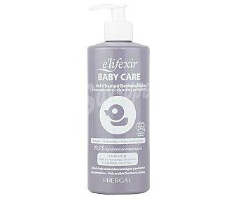E'lifexir Gel-champú dermatológico sin gluten, para pieles sensibles y con tendencia atópica baby care 500 ml
