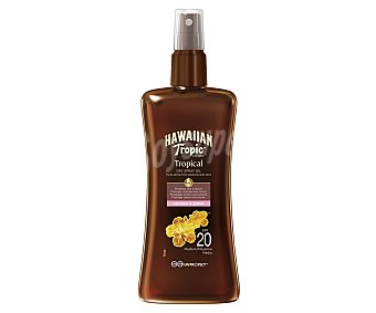 HAWAIIAN TROPIC Aceite protector FP-20 200 ml