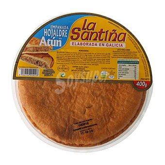 La Santiña Empanada de hojaldre de atún 400 g