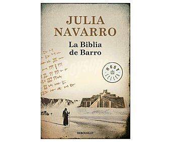HISTÓRICA La biblia de barro, julia navarro fernandez, libro de bolsillo, género: novela histórica, editorial: Debolsillo. Descuento ya incluido en pvp. PVP anterior:
