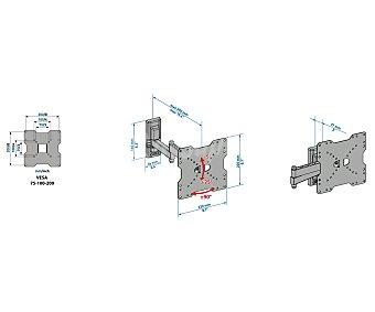 """MELICONI EDR200 Soporte inclinable rotativo universal con 2 brazos para televisores de 26"""" a 40"""""""