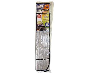 ROLMOVIL Parasol aluminizado plegable con cortina térmica reflectora y medida de 145x70 centímetros 1 unidad