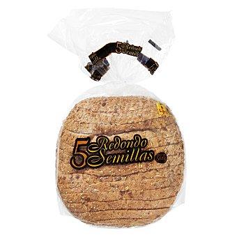 Panificadora Alcalá Pan redondo cortado 5 semillas 1 u 500 g