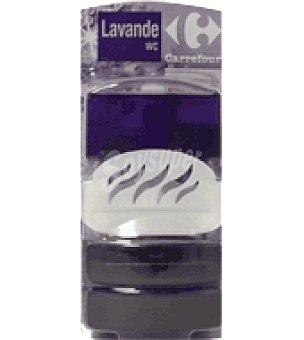Carrefour Bloc wc liquido lavanda Pack de 3x55 ml