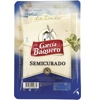 García Baquero Queso semicurado lonchas 200 g