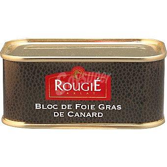 Rougie bloc de foie gras de pato  lata 200 g