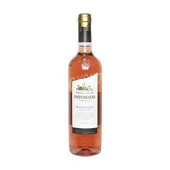 Emparrado Vino rosado tempranillo semidulce Botella 75 cl