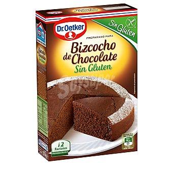 Dr. Oetker Bizcocho de chocolate sin gluten Caja 374 g