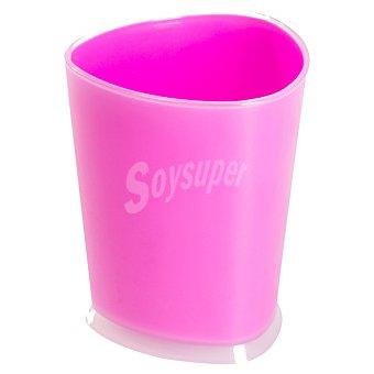 QUO Vaso Para baño en color fucsia 1 Unidad