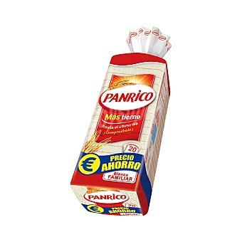 Panrico Pan de molde sin corteza Paquete 450 g