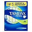 Tampones pearl súper Caja 18 unidades Tampax