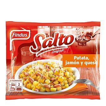 Findus Salteado de patata con bacon y queso Salto 550 g