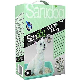 SANIDOG Clean&Easy Lecho higiénico para perros pequeños y cachorros Bolsa 10 l
