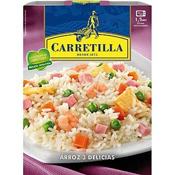 CARRETILLA Arroz tres delicias estuche 250 g tres estuche 250 g