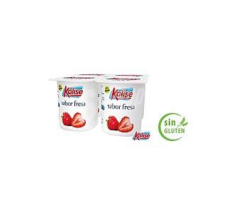 Kalise Yogur sabor Fresa Pack 4 x 125 g