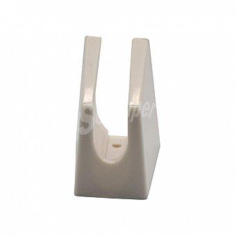 Carrefour Home Soporte Ducha de Plástico 4 cm - Blanco 1 ud