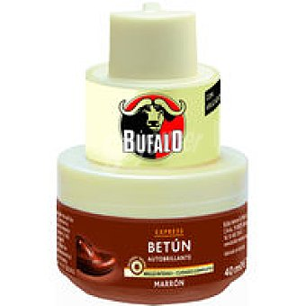 Calzado Crema color marrón para búfalo 40 ml