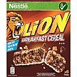 Barritas de cereales para el desayuno 6 unidades estuche 150 g estuche 150 g Lion Nestlé