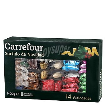 Carrefour Surtido de mantecados y polvorones 1400 g