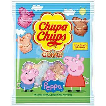 CHUPA CHUPS Gomis Peppa Pig Caramelos blandos elaborados con zumo de frutas bolsa 125 g Bolsa 125 g