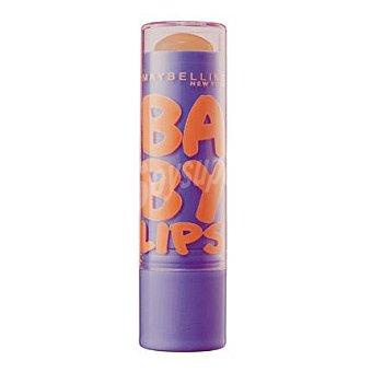 Maybelline New York Bálsamo labial Baby Lips Peach Kiss 1 unidad