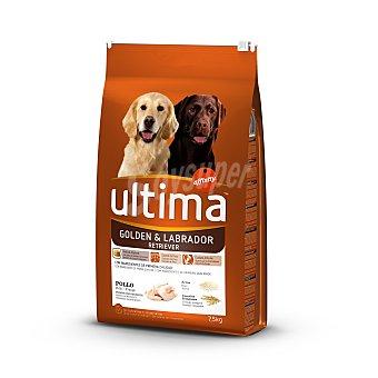 ULTIMA Alimento para perros golden y labrador  bolsa 7,5 kg