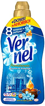 Vernel Suavizante Aroma Bienestar Botella 57 dosis