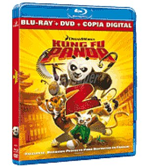 Kung-fu Panda 2 (BR combo+dc)