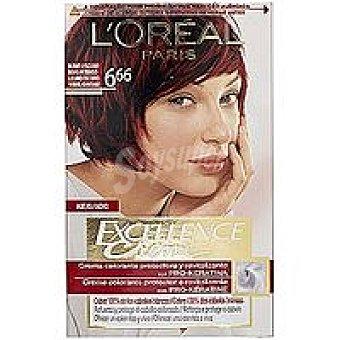 Excellence L'Oréal Paris Tinte rubio oscuro N.6.66 Caja 1 unid