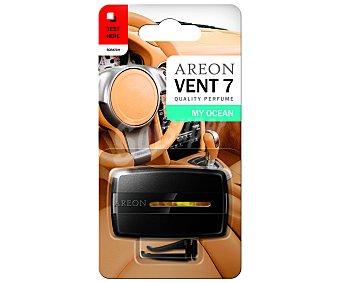 AREON Ambientador de coche para rejilla de ventilación, con olor a brisa marina, modelo Vent 7 1 unidad
