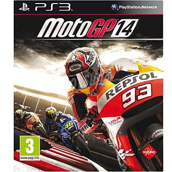 PS3 Videojuego MotoGP 14 para PS3 1 Unidad