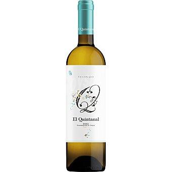 El quintanal Vino blanco verdejo D.O. Rueda Botella 75 cl